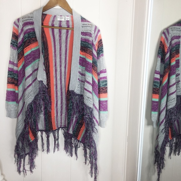 Cato Other - Cato Girls Size Large(14/16) Multicolored Cardigan